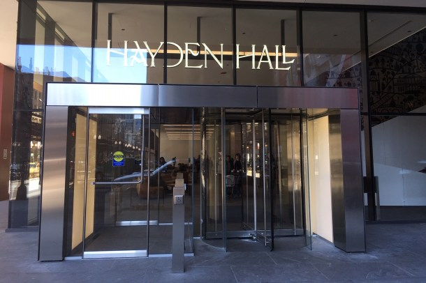 New food hall Hayden Hall