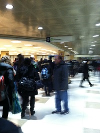 Long Metra Ticketing Lines
