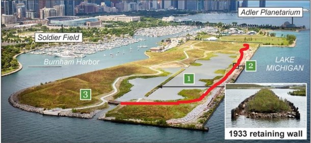 Northerly Island CPD map 2