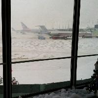 Ohare airport winter