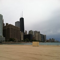 Ohio Street Beach Lakefront Trail