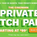 Rent a private Cinemark theater