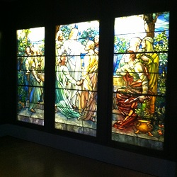 Richard H Driehaus Gallery of Stained Glass Pier