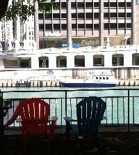 Shoreline water taxi stop