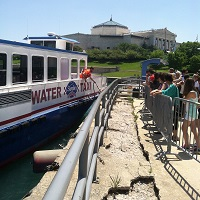 Water Taxi stop at Museum Campus