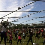 Free Saturday morning workouts at Millennium Park
