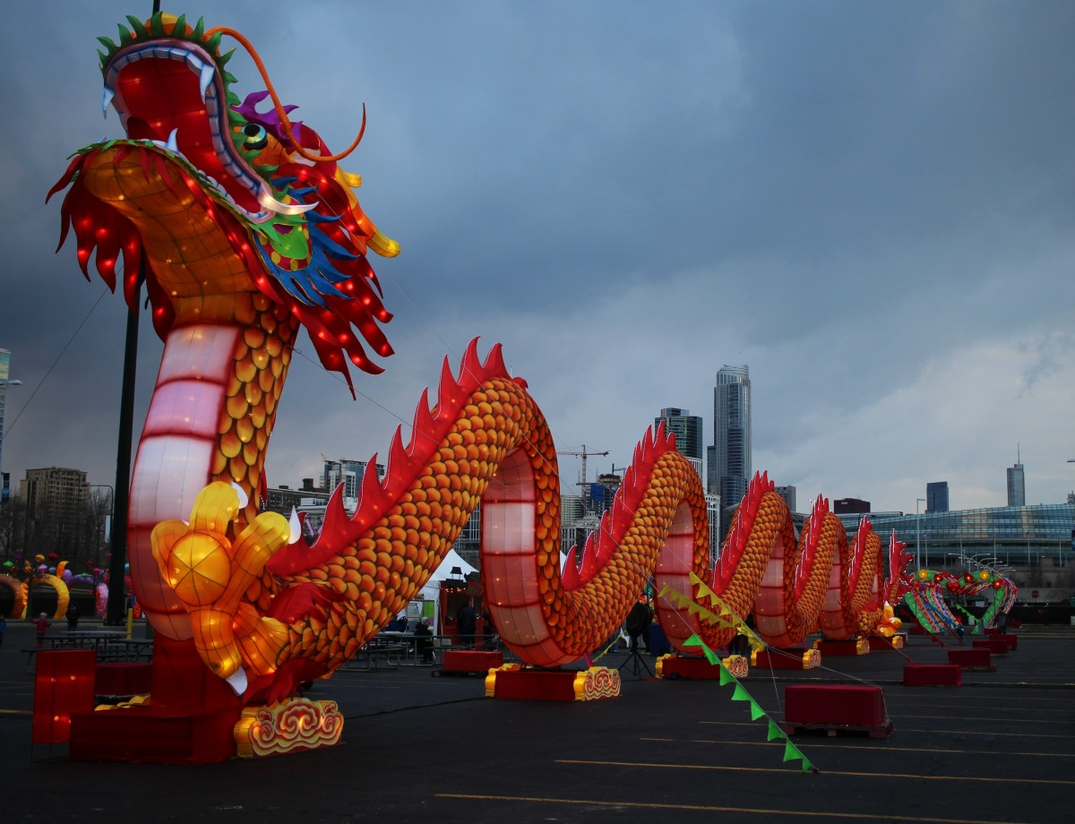 Dragon Lights in Chicago