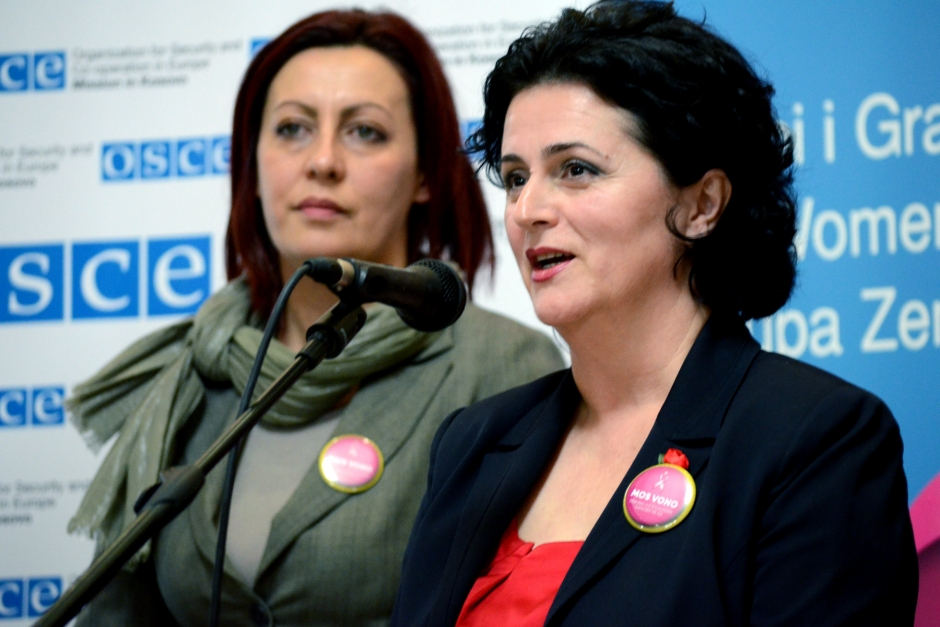 "Beyond ""soft"" issues: The Women's Caucus of Kosovo speaks up"
