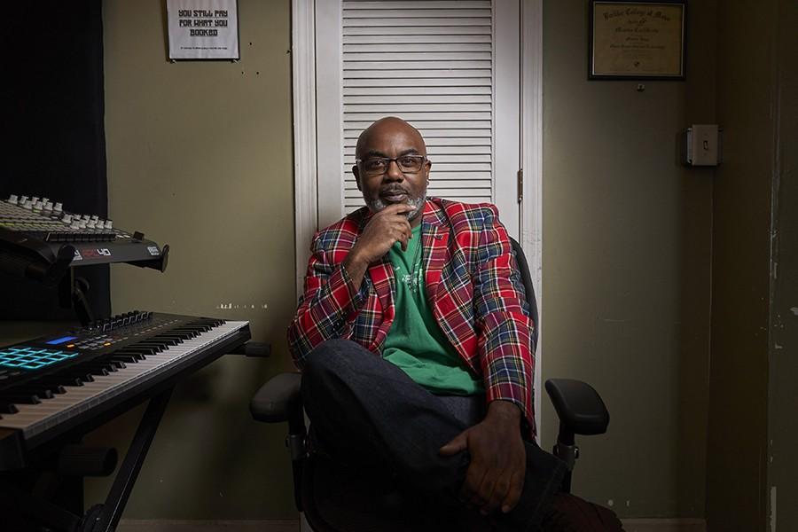 "Martin ""Shadow"" Johnson, co-owner of Insomniac Studios"