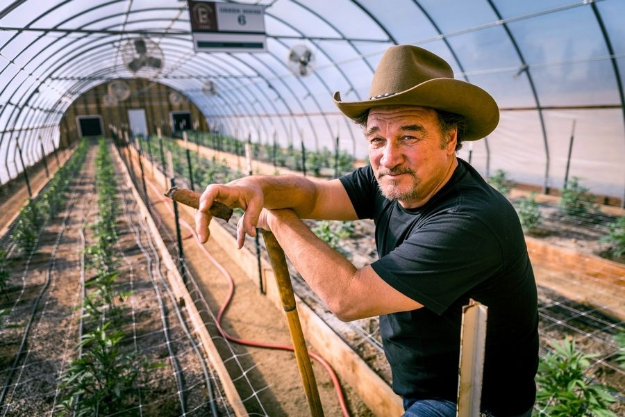 Jim's reality show <i>Growing Belushi</i> airs Wednesday at 9 PM on Discovery.
