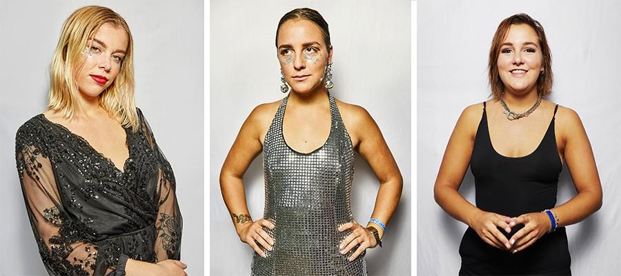 Eliza Enman-McDaniel, Jordan Miller and Kylie Miller of The Beaches