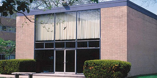 Mies van der Rohe's Carr Chapel, aka the God box