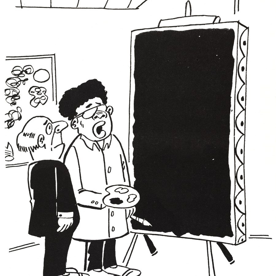 A 1970 one-panel cartoon from Charles Johnson.