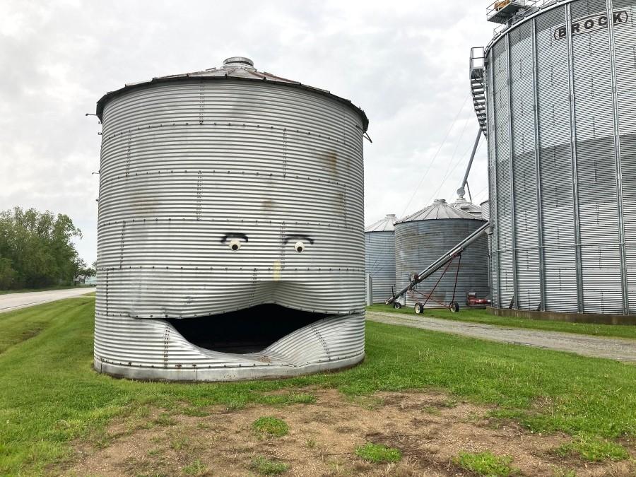 Corn crib in Monon, Indiana