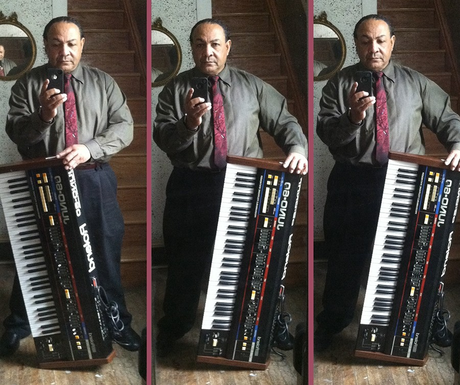 Rodney James Baker, who performed and recorded as Rodney Bakerr, sent these photos to the author in 2013.