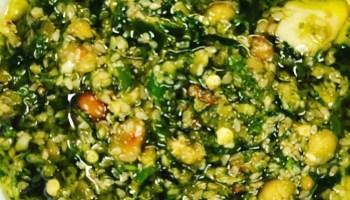 Salsa macha verde
