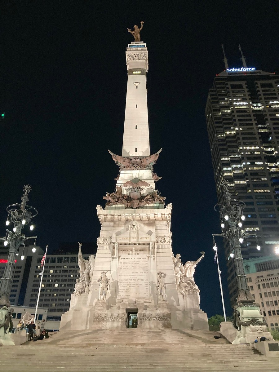 The Soldiers and Sailors Monument