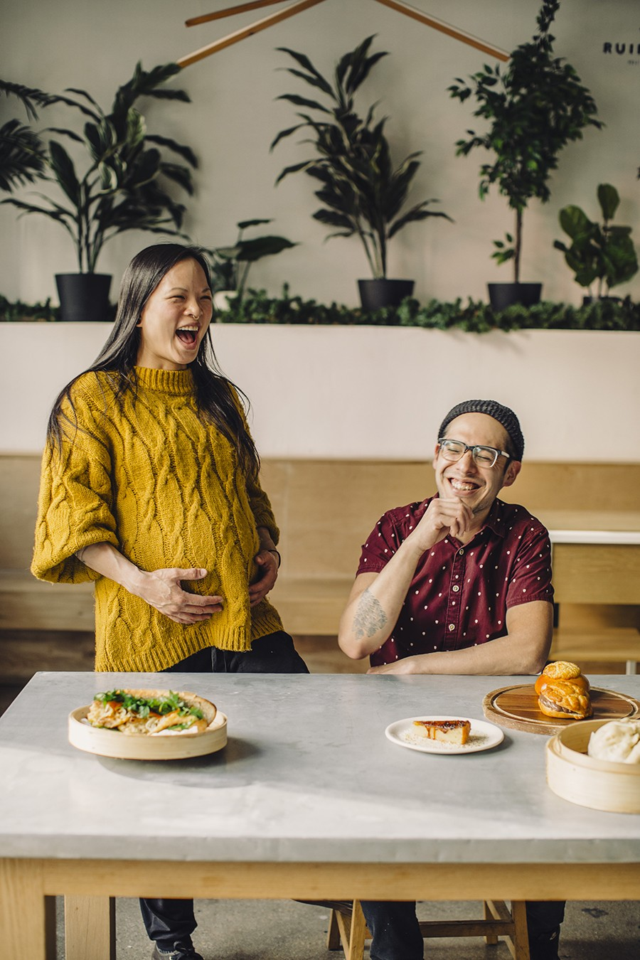Jeanette Tran-Dean and David Hollinger met in 2014 and bonded over their love for Asian pastries and early exposure to the food of each other's cultures.