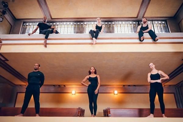 Winifred Haun & Dancers at Unity Temple