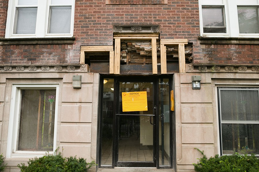 A Pangea building in East Chatham was cited by the city for building code violations in October 2018.