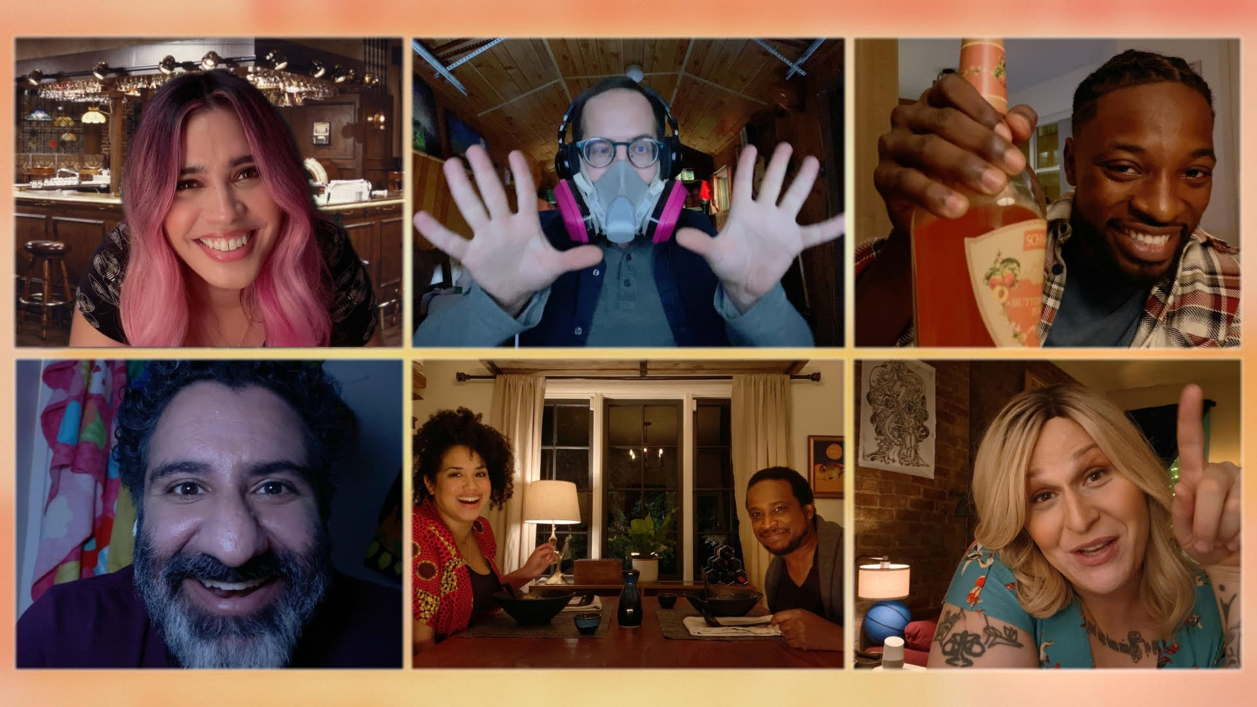 The characters on <i>Connecting . . .</i> solely interact on Zoom-like video chat.