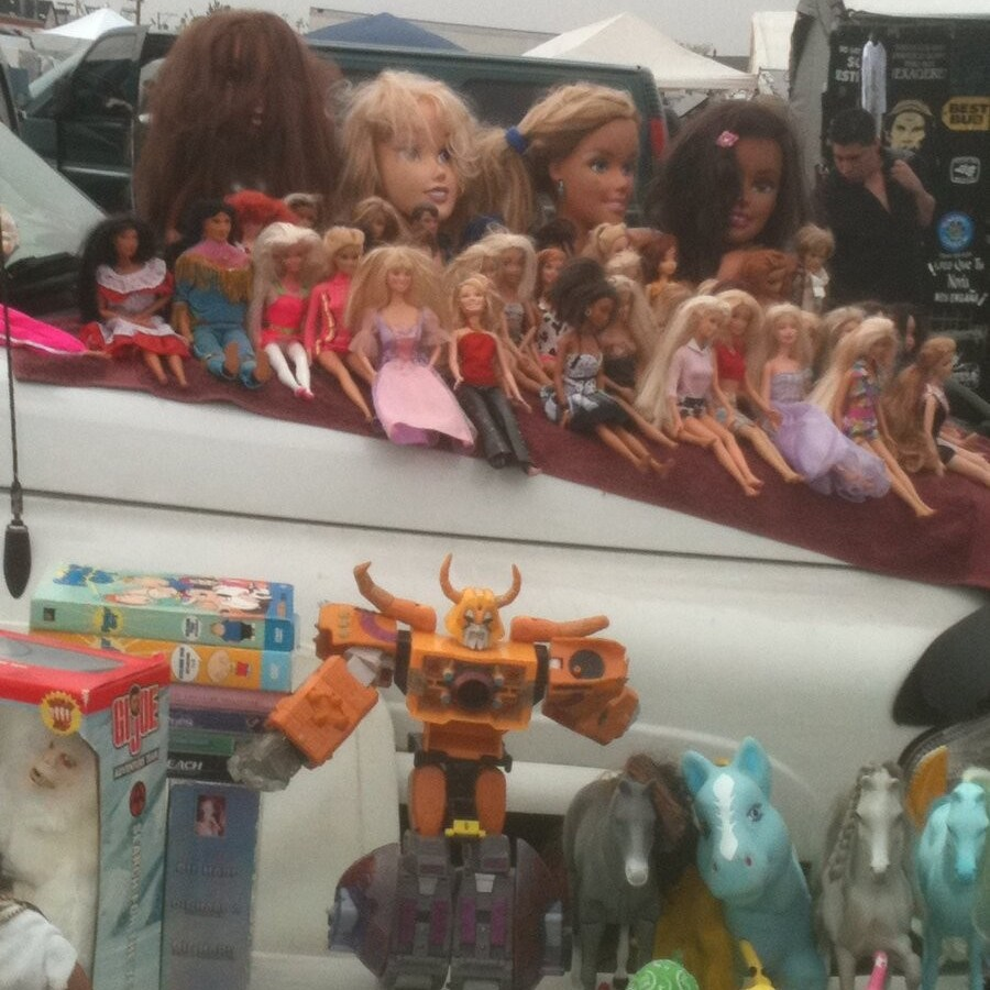 All of this is possible, at Swap-O-Rama Flea Market in Back of the Yards.
