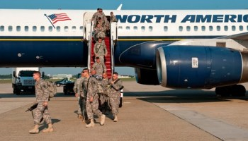Soldiers returning from Iraq, August 28