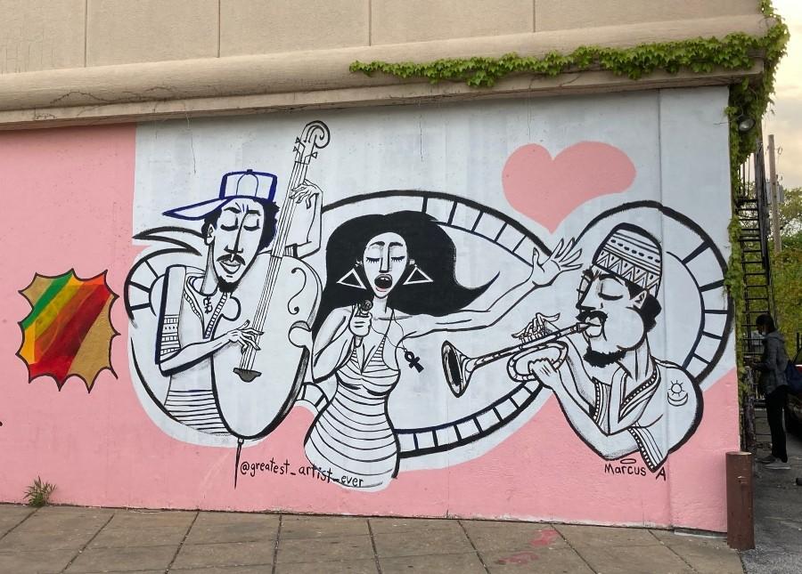 Mural in South Shore