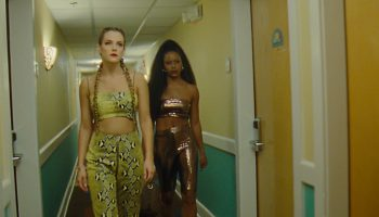 Riley Keough and Taylor Paige in <i>Zola</i>