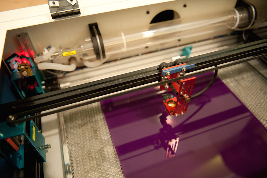The laser cutter