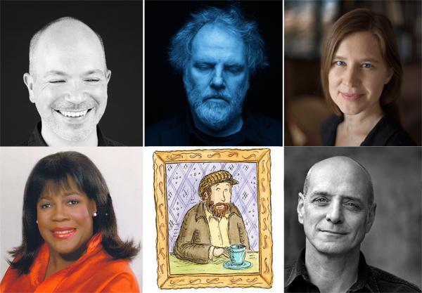 Sasha Frere-Jones, Guy Maddin, Eula Biss, Chaz Ebert, Stephin Merritt, and Eric Schlosser