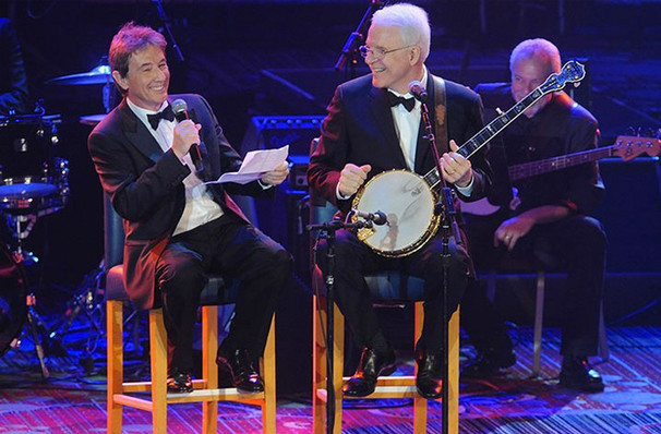 Martin Short and Steve Martin are best buds, and their comedy will reflect that at the Chicago Theatre Saturday 10/7.