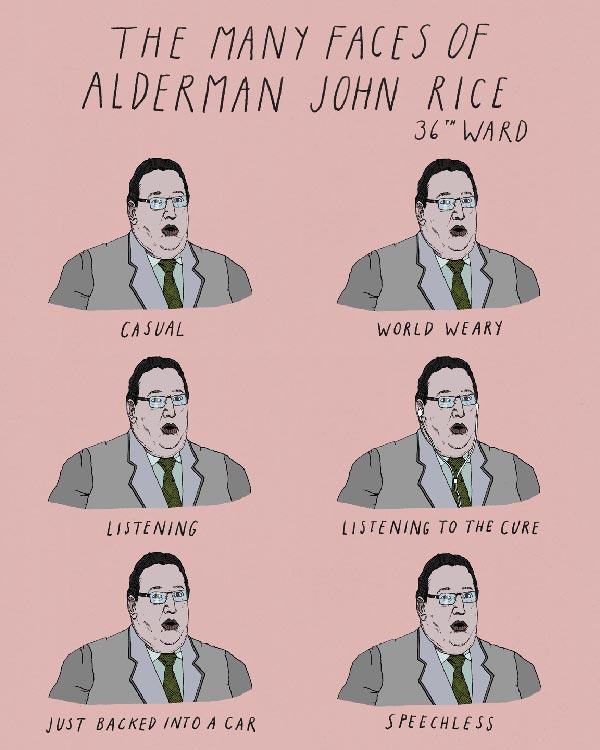 36th Ward: John Rice