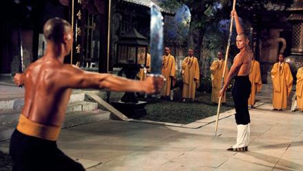 Gordon Liu in The 36th Chamber of Shaolin