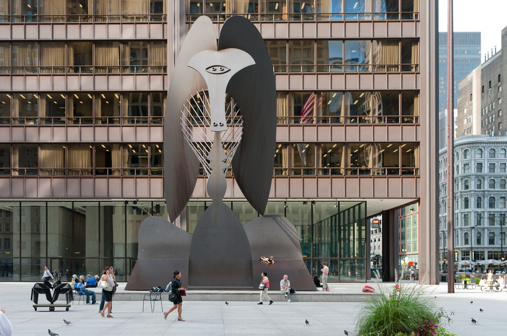 Everyone's Picasso honors the 50th anniversary of the Chicago Picasso—the giant metal aardvark herself—on Tue 8/8.