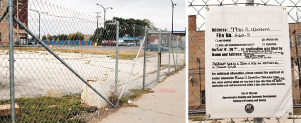 """The intersection of 79th and Western is an attractive spot for a pawnshop, according to 18th Ward alderman Lona Lane. """"It's a few jobs, and people are desperate for something. They'll pay $11 an hour plus benefits."""""""