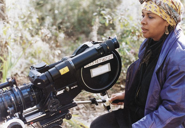 Julie Dash filming <i>Daughters of the Dust</i>