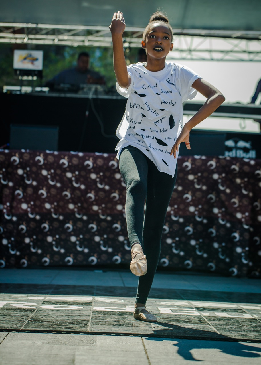 Dancer Willow Brown at the Freedom Stage