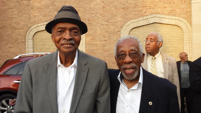 """Herb """"the Cool Gent"""" Kent and Eddie Thomas in 2015"""