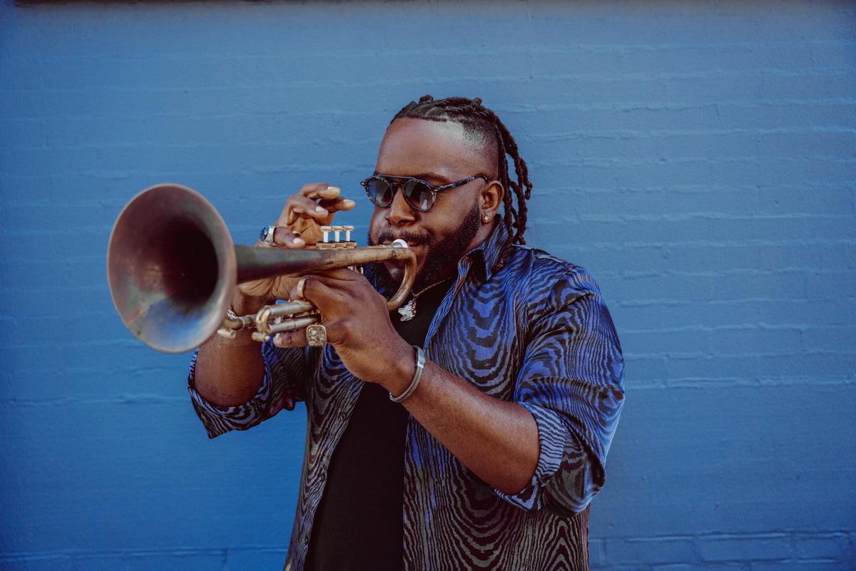 Jazz trumpeter Marquis Hill