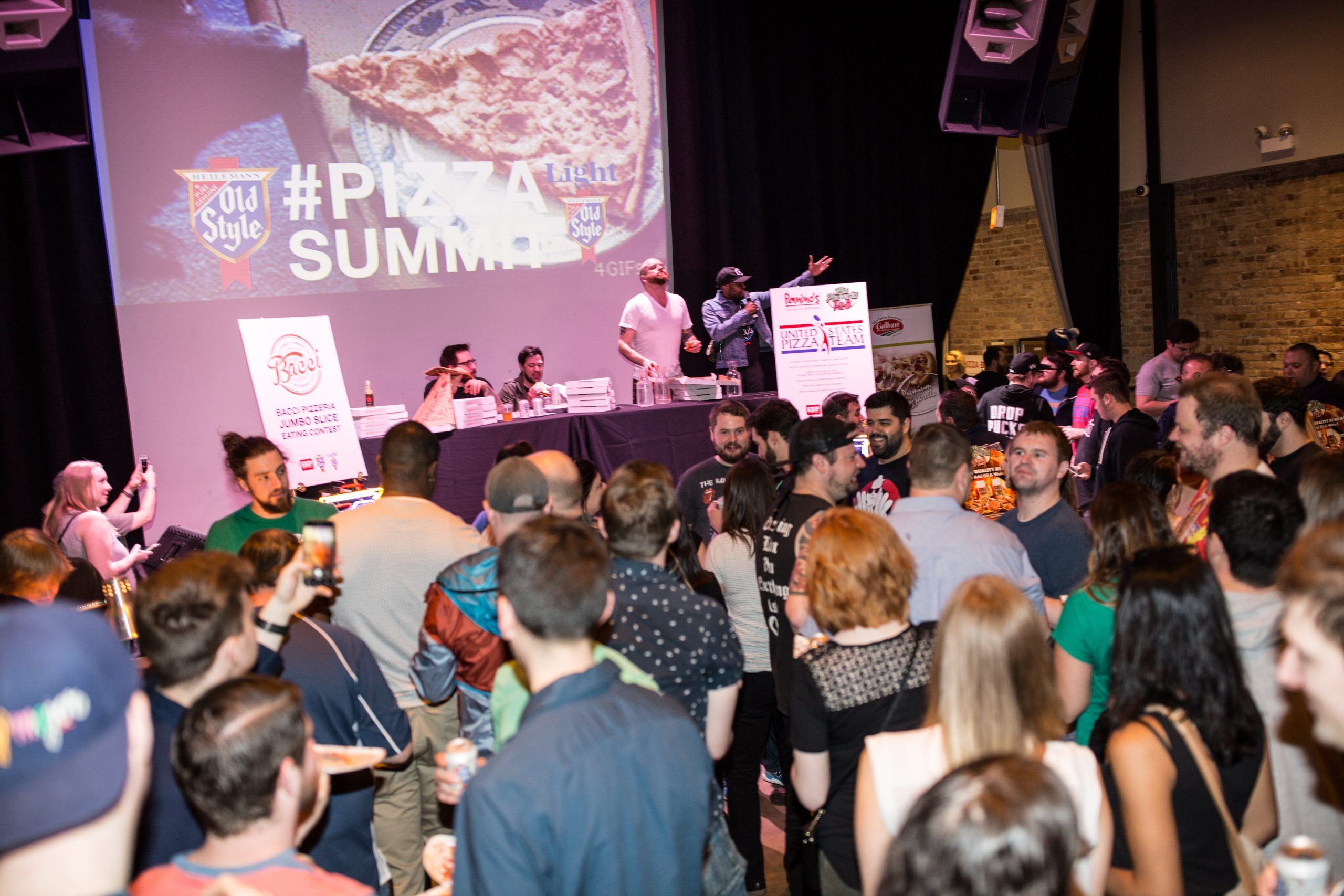 A scene from the 2017 Pizza Summit