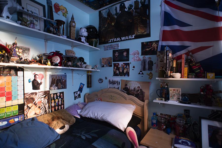 Carli Blanco's room