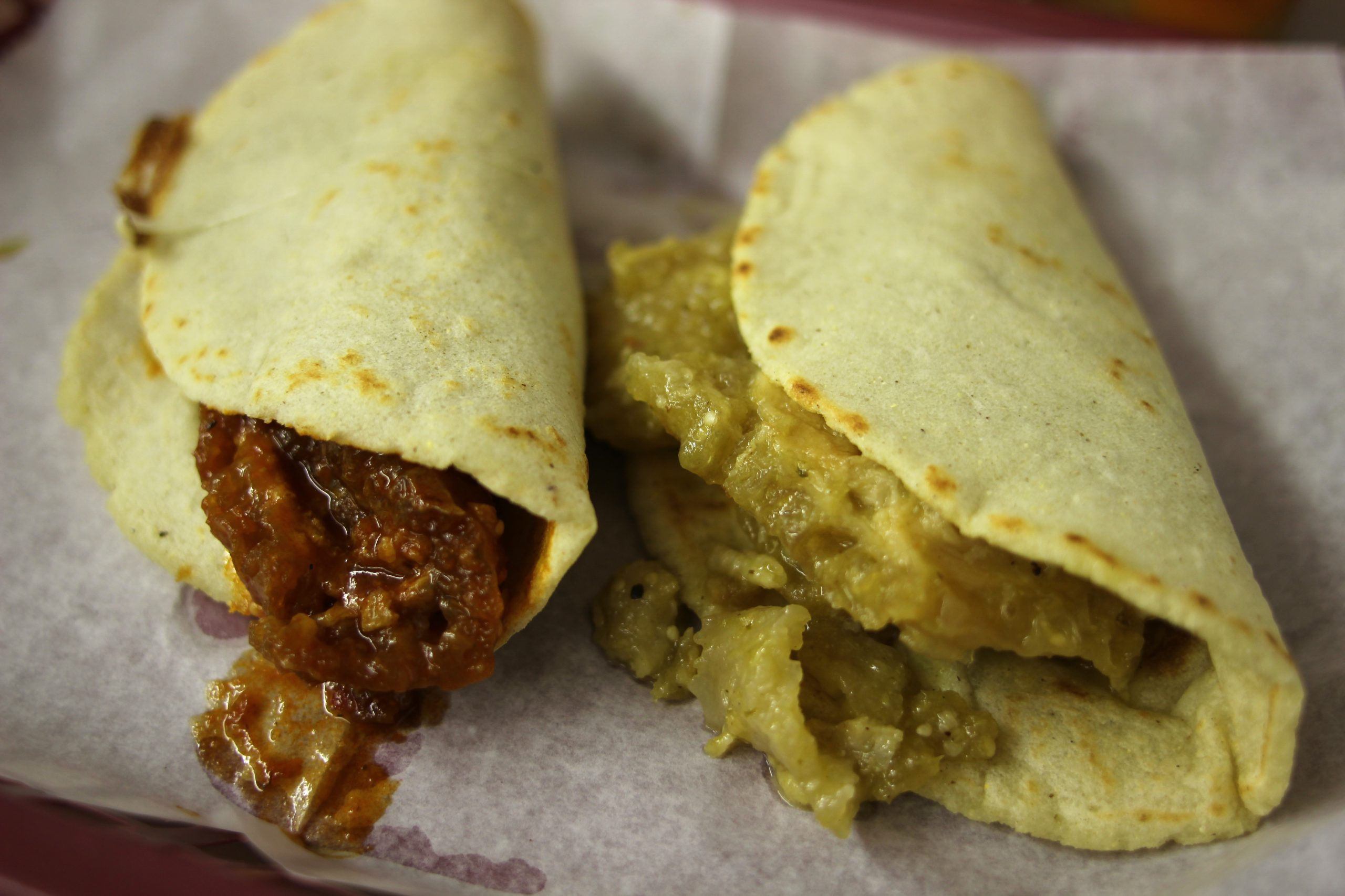 8. Carniceria Aguascalientes, 3132 W. 26th St. Handmade tortillas, chicharron tacos with red or green salsa
