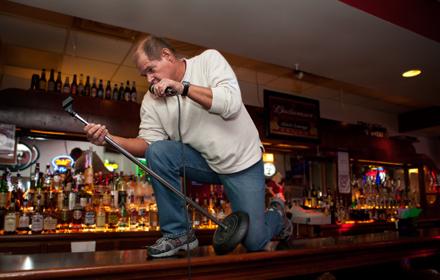Fred Wood, karaoke DJ extraordinaire