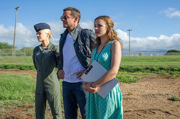 We'll miss Emma Stone, Bradley Cooper, and Rachel McAdams looming over Logan Square.