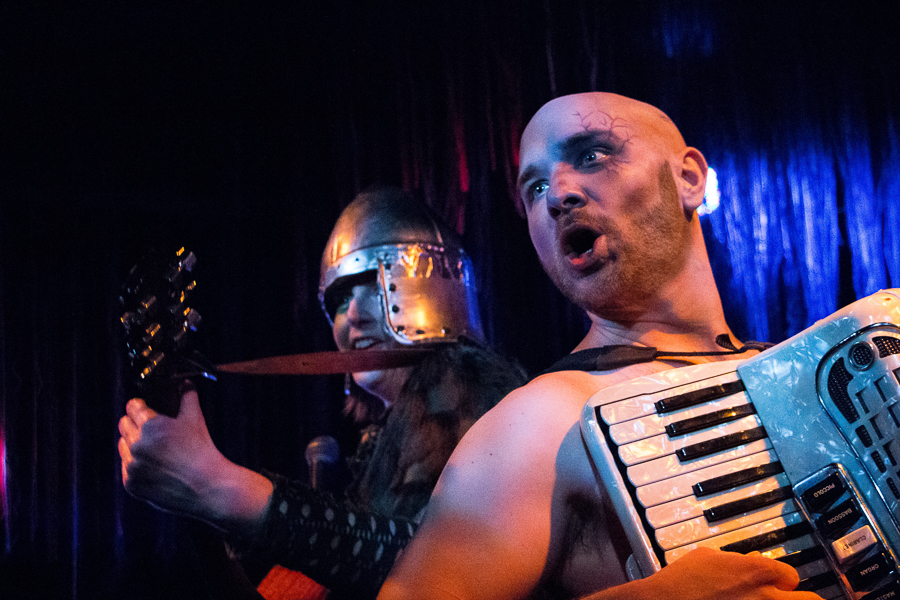 Red Theater's <i>Beowulf: An Epic Quest of Music, Monsters, and Mead</i>