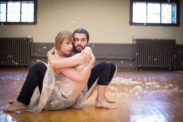Melanie Rockwell and Jonathan Monroe