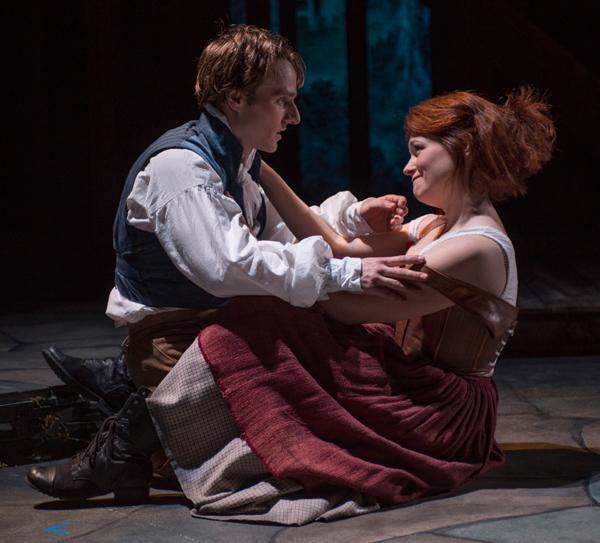 Sam Ashdown and Molly Glynn in Tom Jones