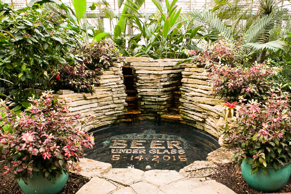 Beer Under Glass at the Garfield Park Conservatory is happening Thursday 5/19.