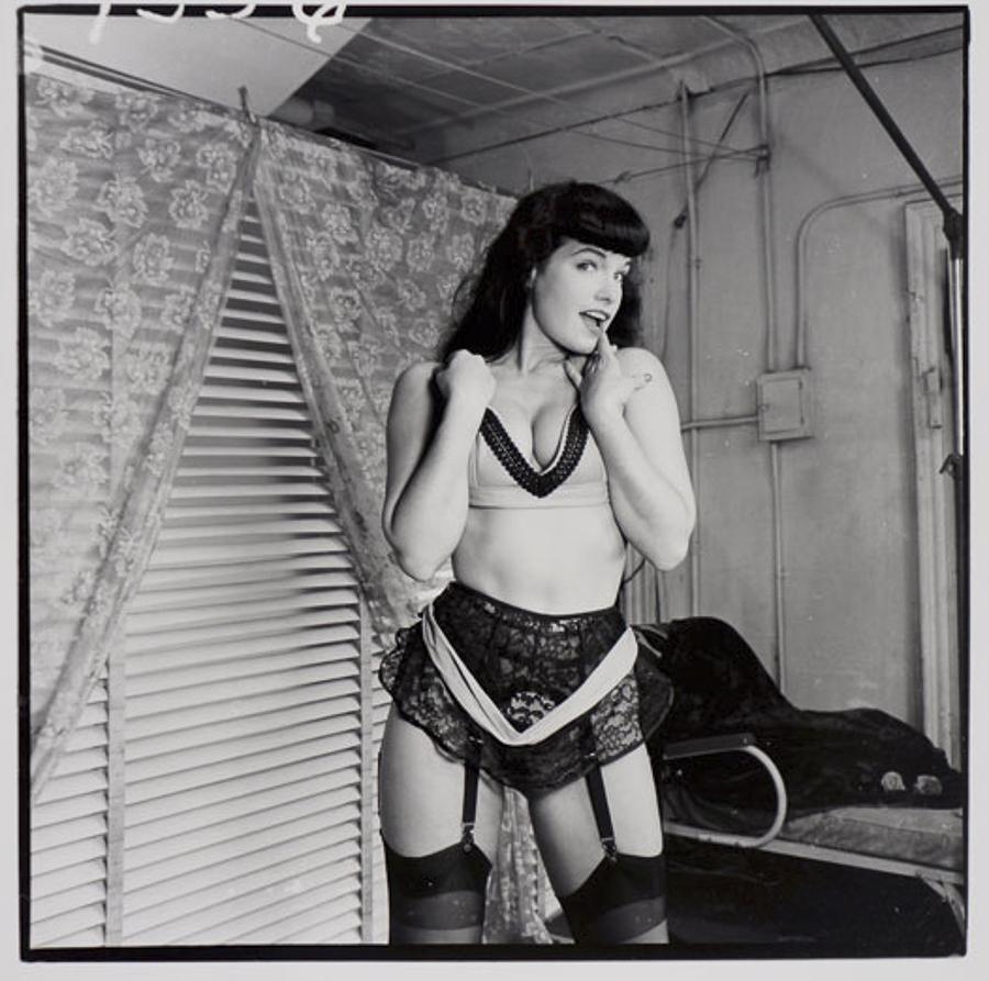 <i>Bettie Page</i>, 1955